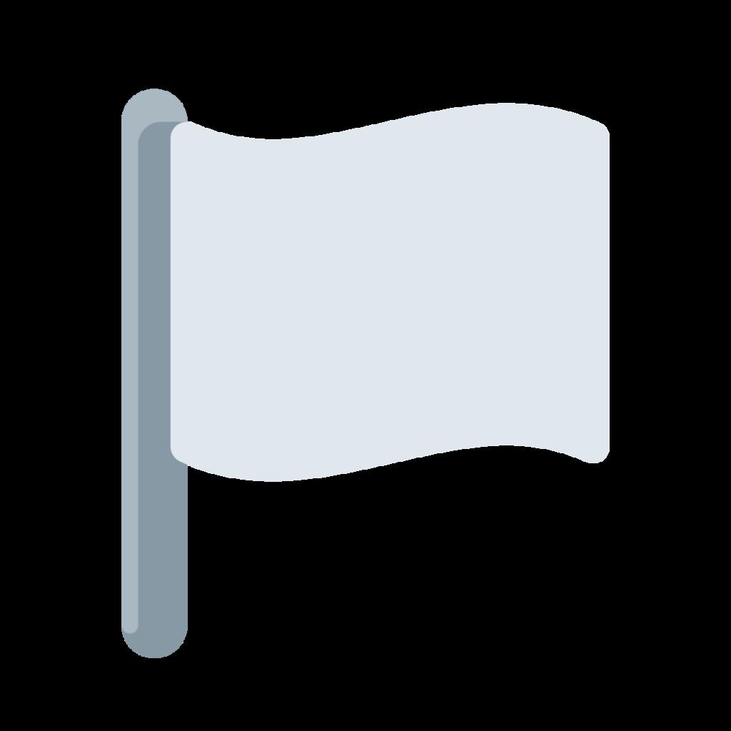 White Flag Emoji