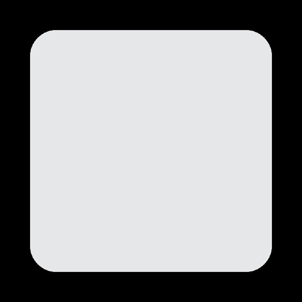 White Large Square Emoji