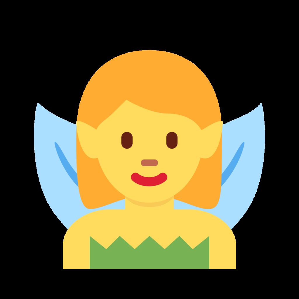 Woman Fairy Emoji