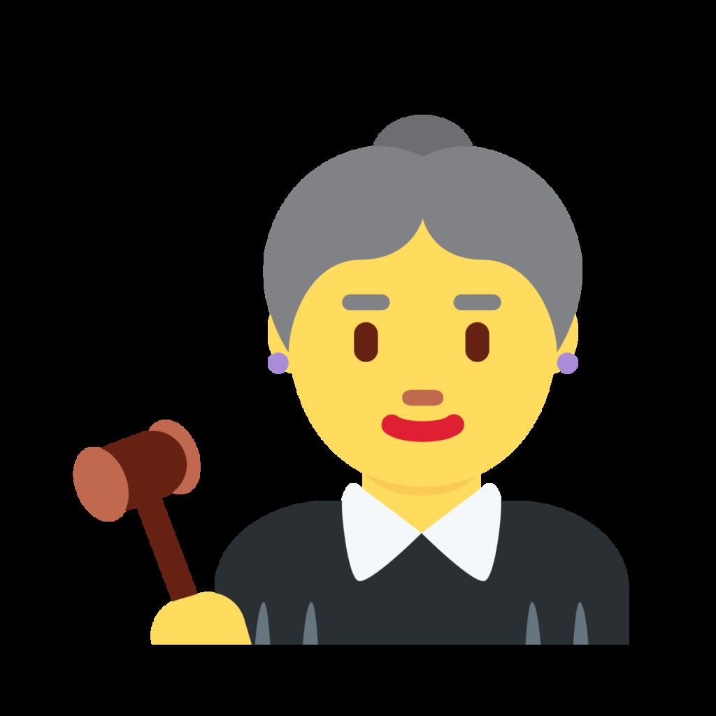 Woman Judge Emoji