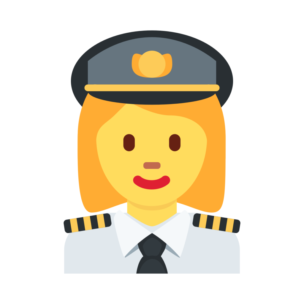 Woman Pilot Emoji