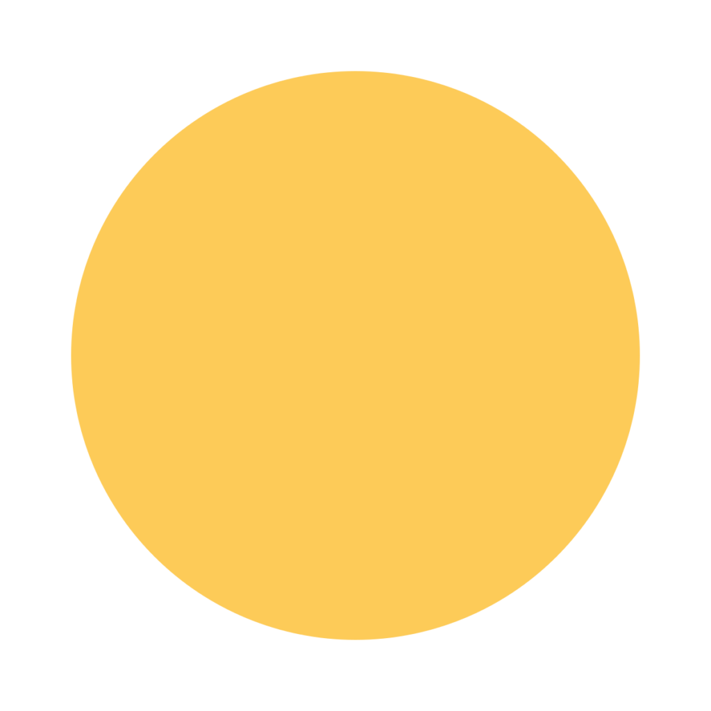 Yellow Circle Emoji