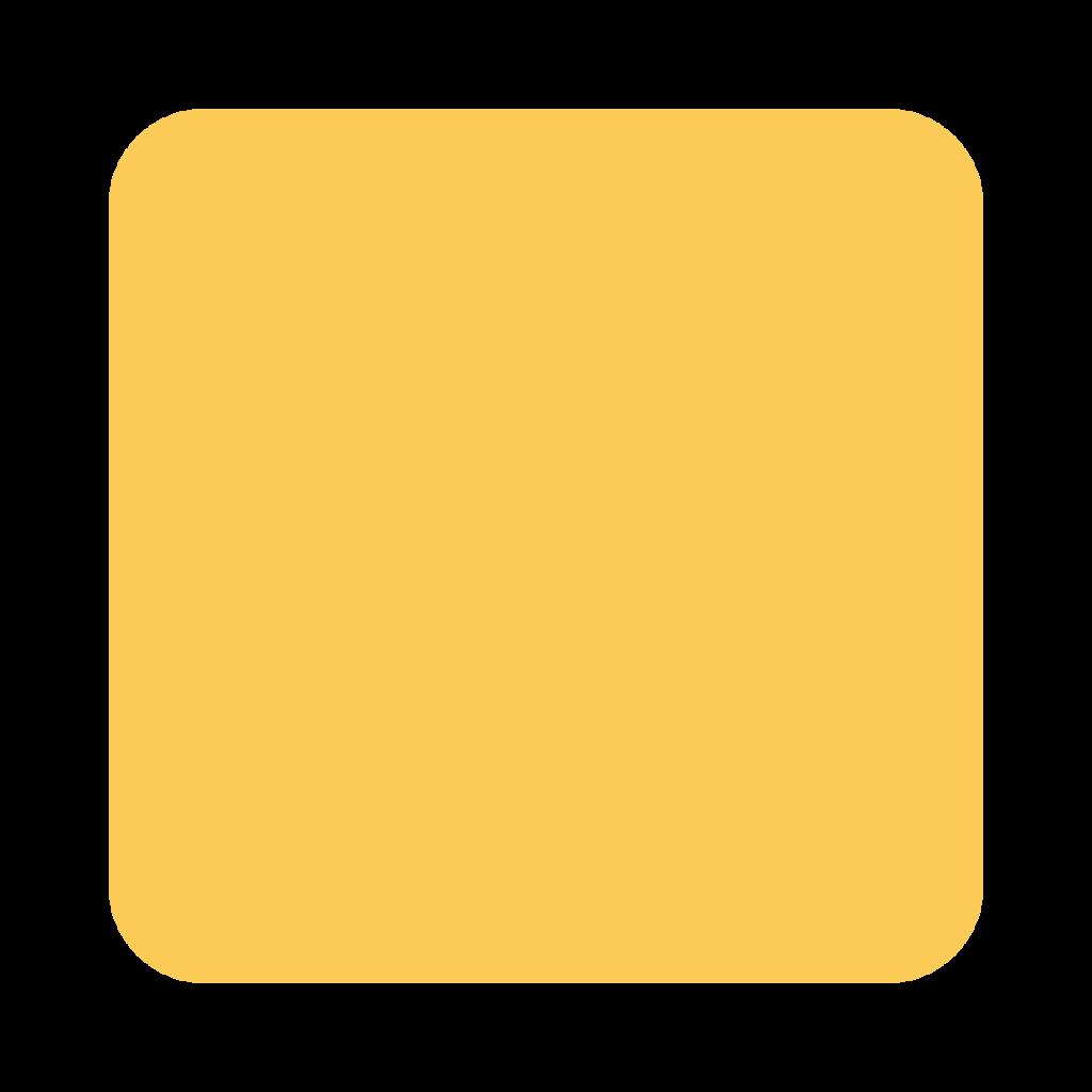 Yellow Square Emoji