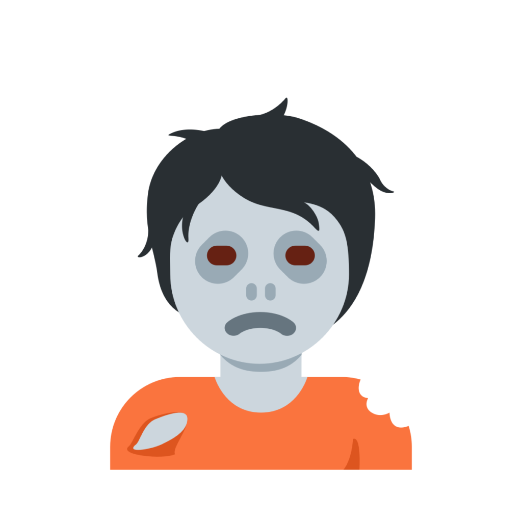 Zombie Emoji