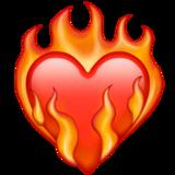 heart on fire 2764 fe0f 200d 1f525