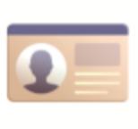 Identification Card Emoji