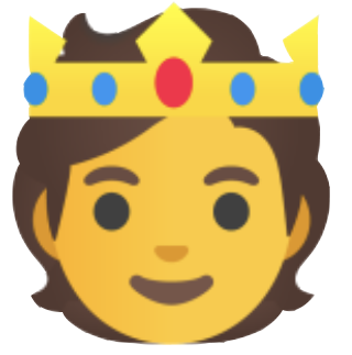 Person With Crown Emoji